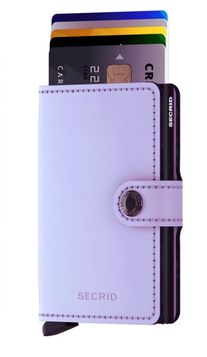 Secrid Miniwallet RFID Matte Lila