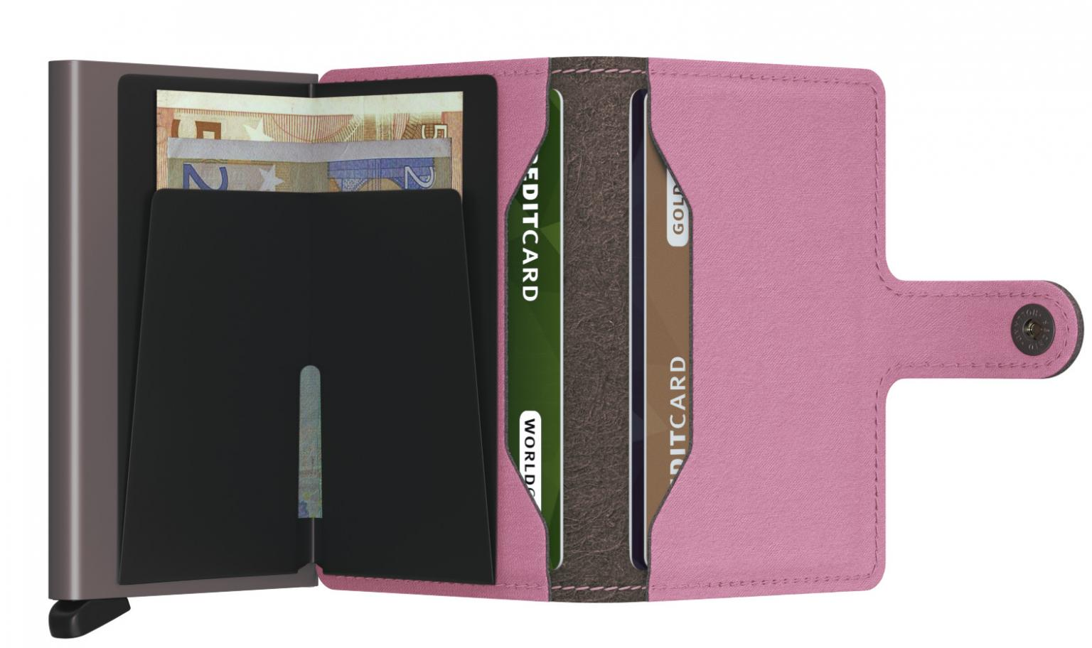 Secrid Miniwallet Yard Rose Vegan RFID Kartenschutz