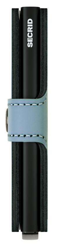 Secrid Miniwallet mit Druckknopf RFID Matte Blue hellblau