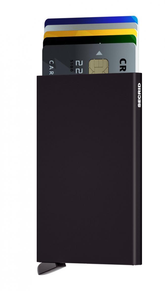 Secrid RFID Cardslide Set Kartenetui Schwarz/Blau