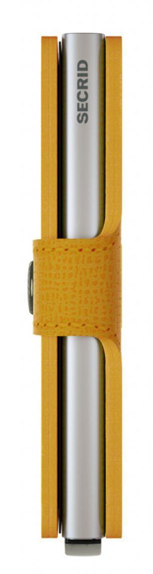 Secrid Schutetui Chipkarten RFIDMiniwallet Crisple Amber