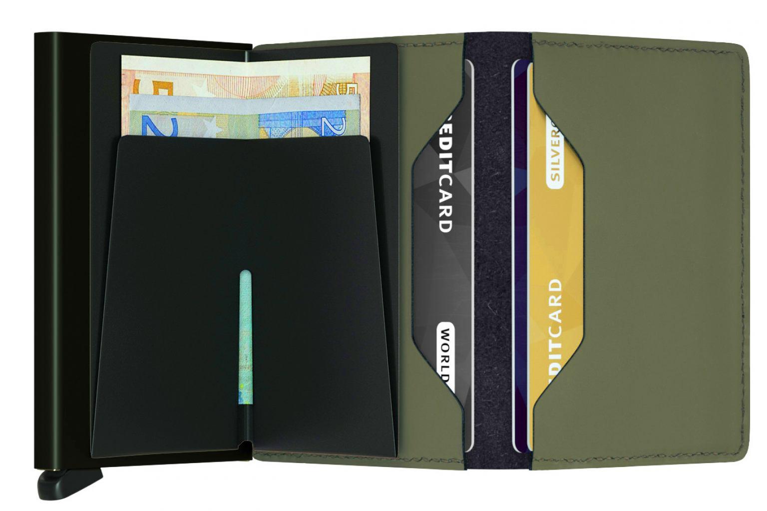 Secrid Schutzetui Chipkarten Slimwallet Matte Green