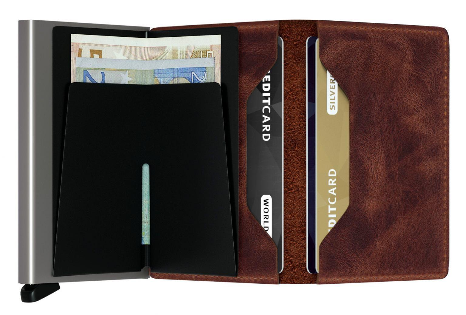 Secrid Schutzetui Chipkarten Slimwallet Vintage Brown