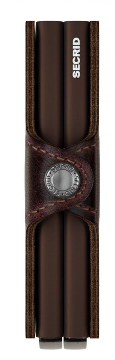 Secrid Schutzetui Chipkarten Twinwallet Vintage Chocolate