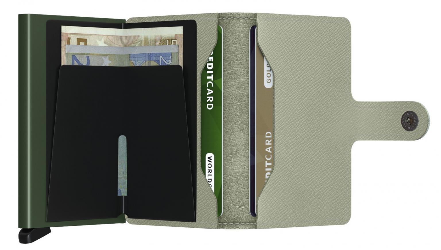 Secrid Schutzhülle RFID Miniwallet Crisple Pistachio grün
