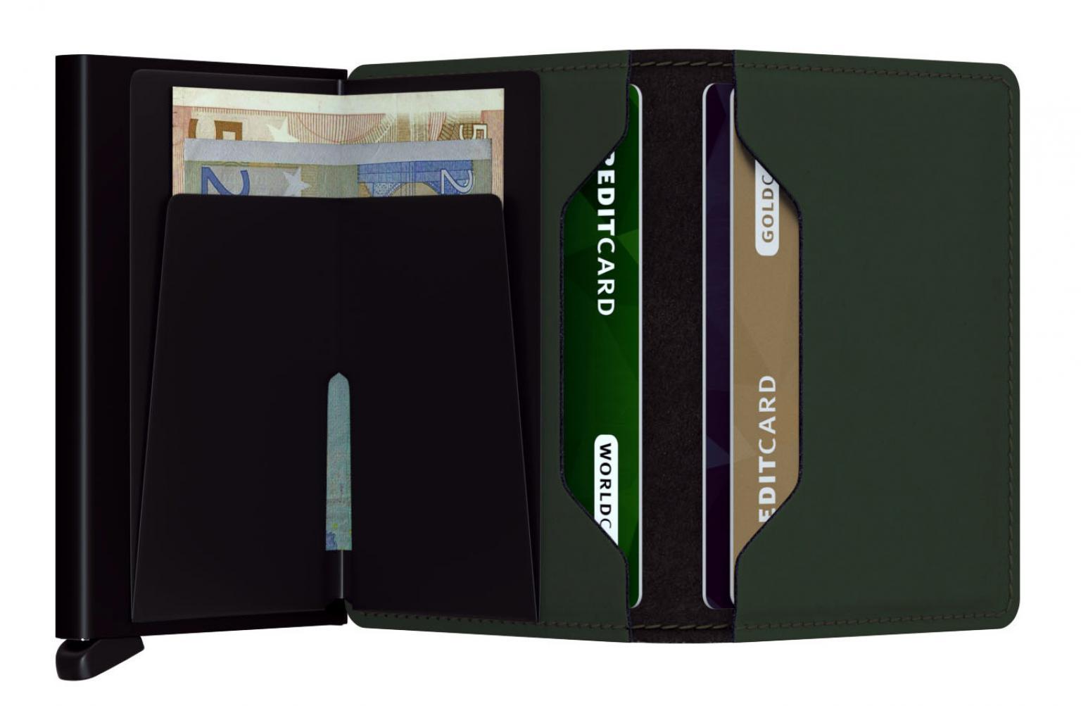 Secrid Slim Wallet Matte Green (Dunkelgrün)