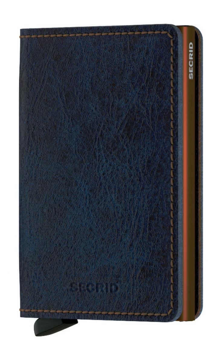 Secrid Slimwallet Indigo S (Jeansblau)