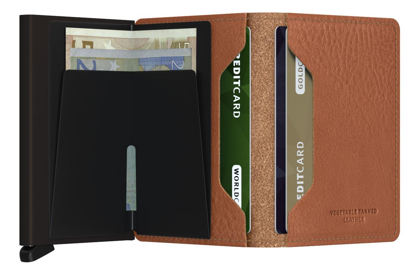 Secrid Slimwallet Vegetable Espresso braun Kartenbörse