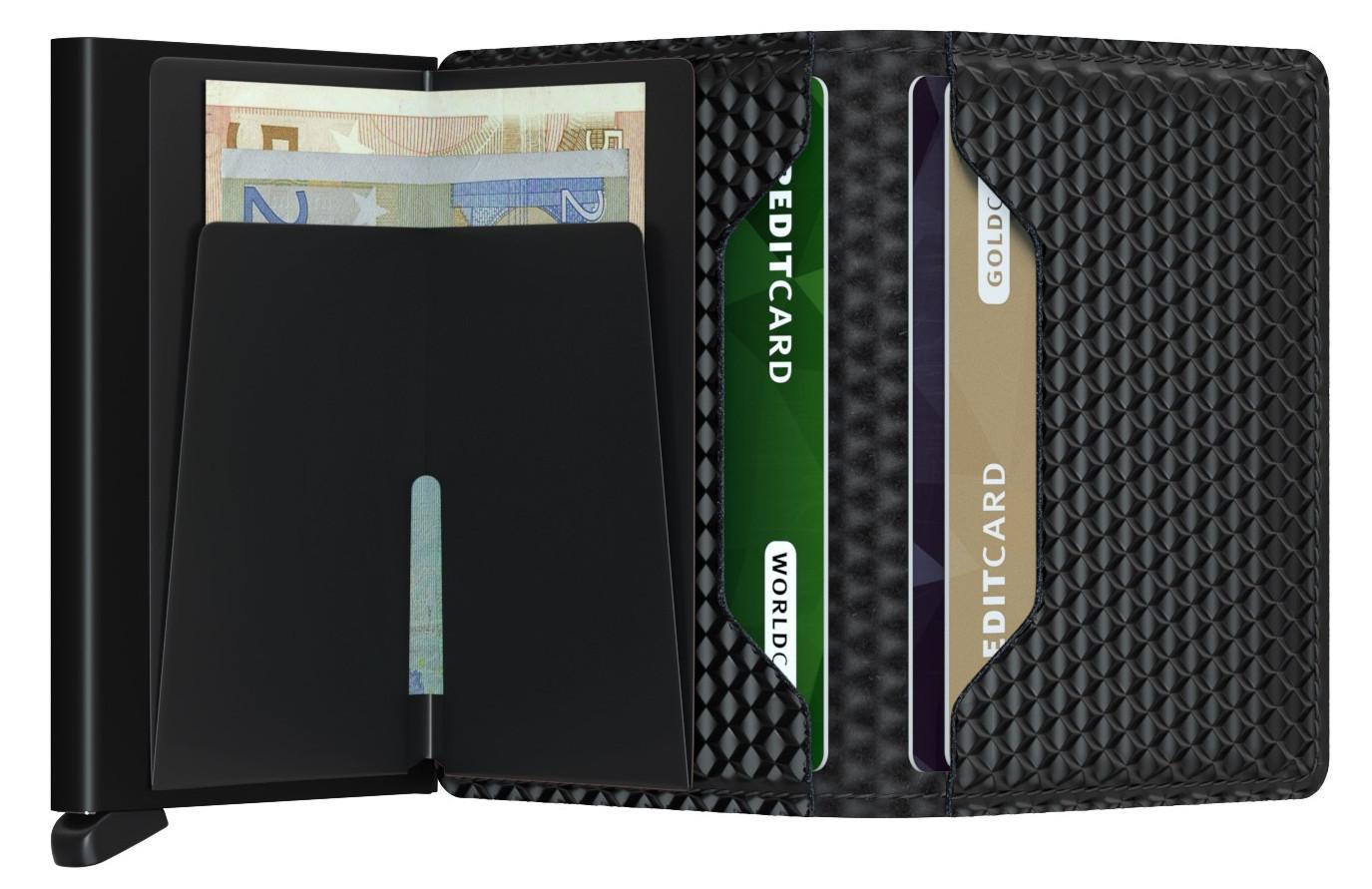 Secrid Slimwallet Würfelprägung Cubic black schwarz RFID-Schutz