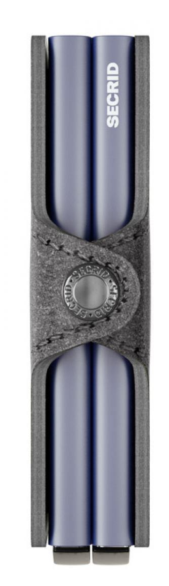 Secrid Twinwallet zwei Metallhüllen Original Cognac