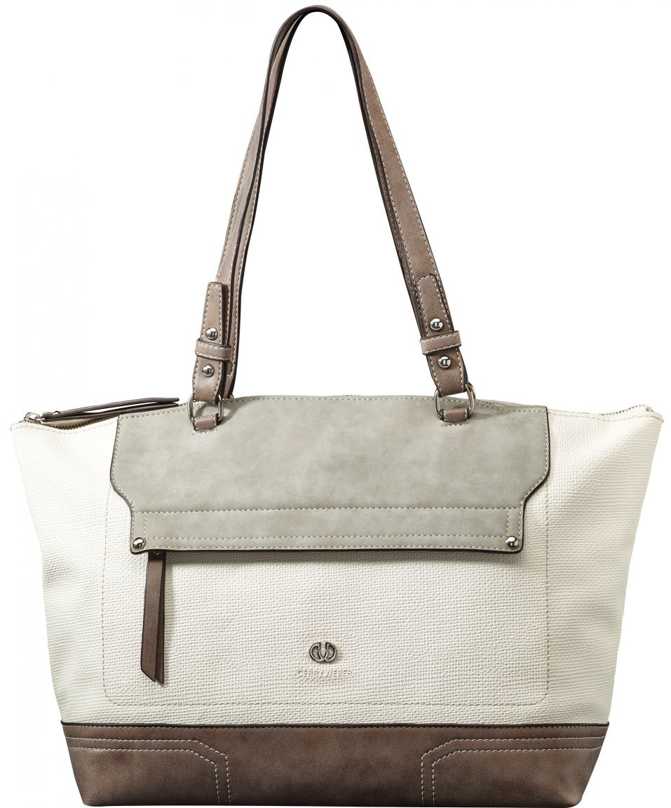 shopper handtasche gerry weber spirit ii wei grau bags. Black Bedroom Furniture Sets. Home Design Ideas