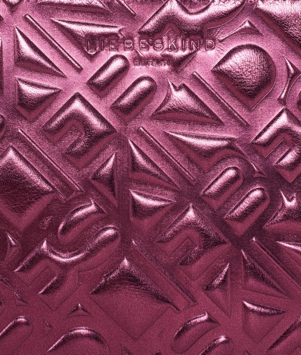 Taschenorganizer MinjaMS8 Liebeskind plum metallic lila