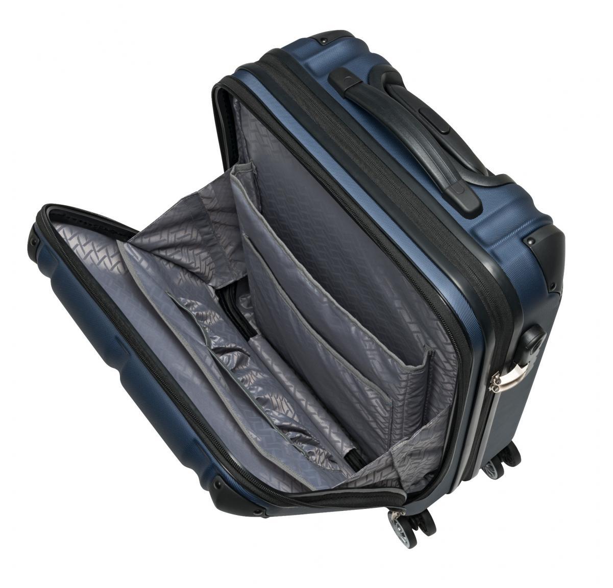 Travelite City Businesswheeler S 55cm ABS Hartschale blau