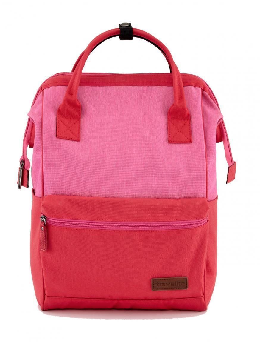 Travelite Handtaschenrucksack Neopak Perlon Rot/Pink