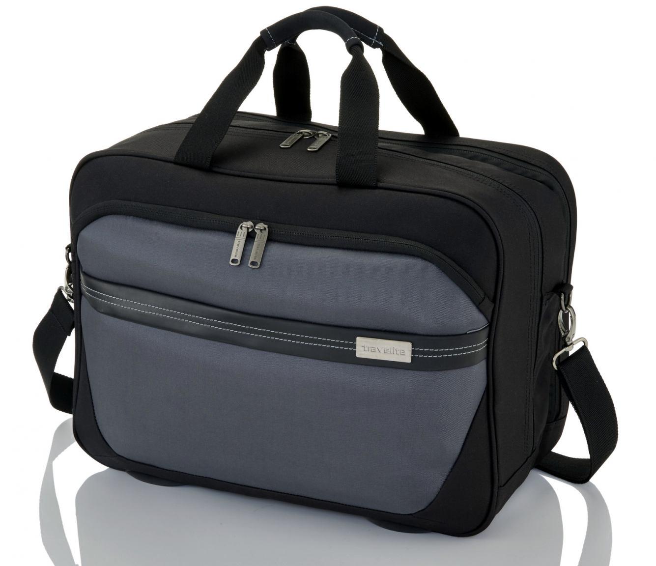 Travelite Meteor Handgepäcktasche schwarz