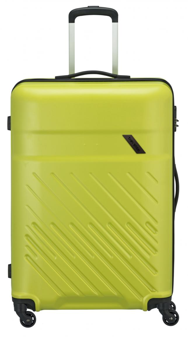 Travelite Reisekoffer Hartschale Vinda L 76cm Lemon grün