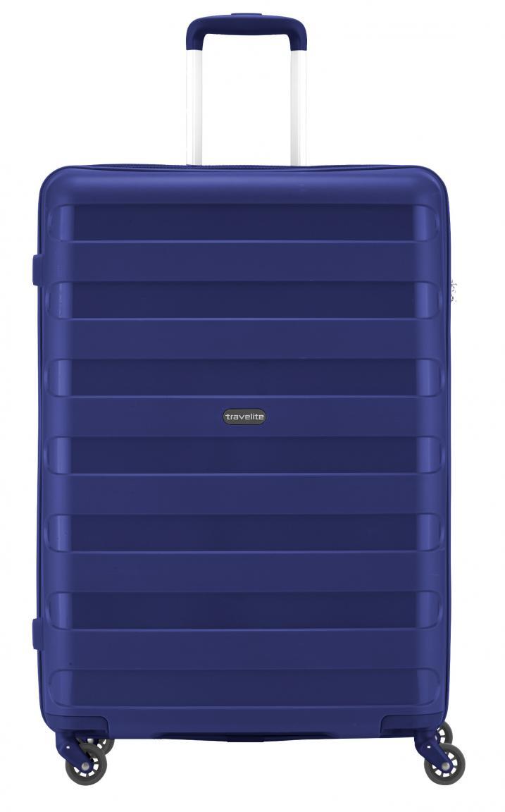 Travelite Reisekoffer Nova L 75cm blau