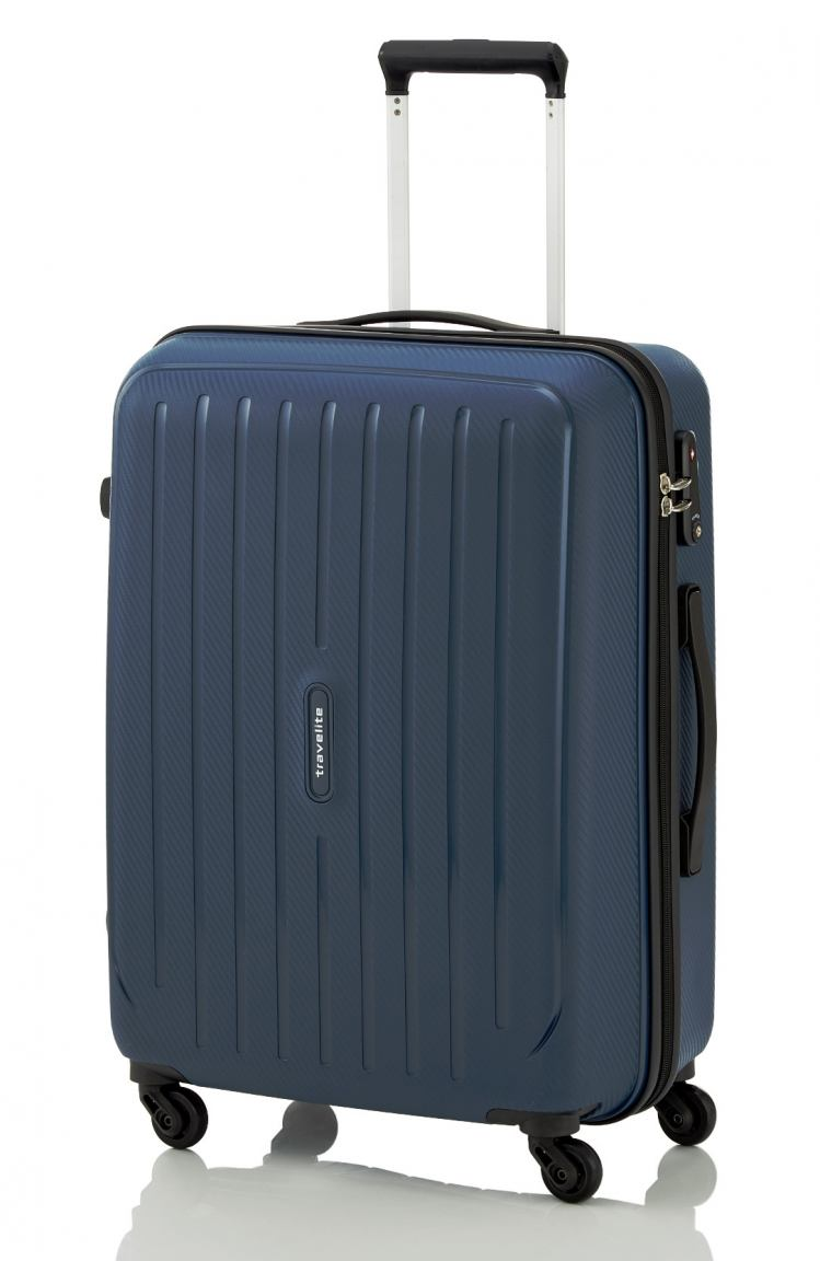 Travelite Uptown Flugkoffer M 65cm poseidon blue
