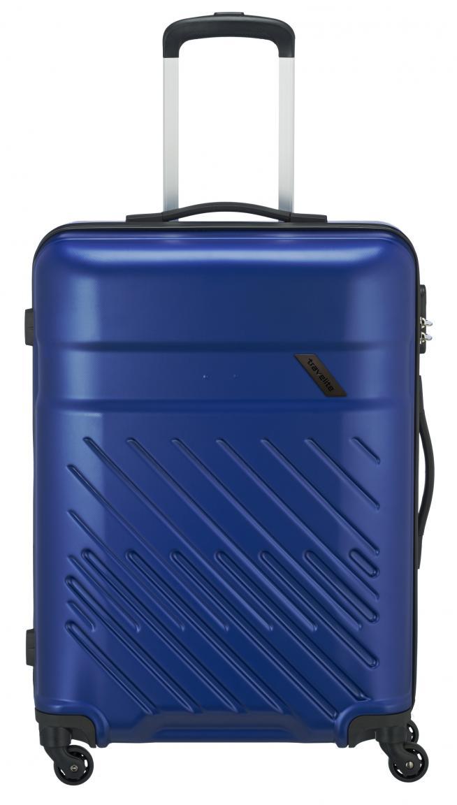 Travelite Vinda M 4-Rad ABS-Hartschalenkoffer 66cm blau