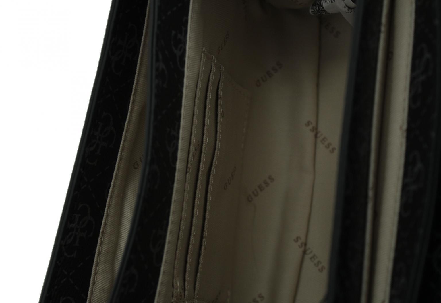 Überschlagtasche Guess Camy Cinnamon Multi rosa Alloverprint