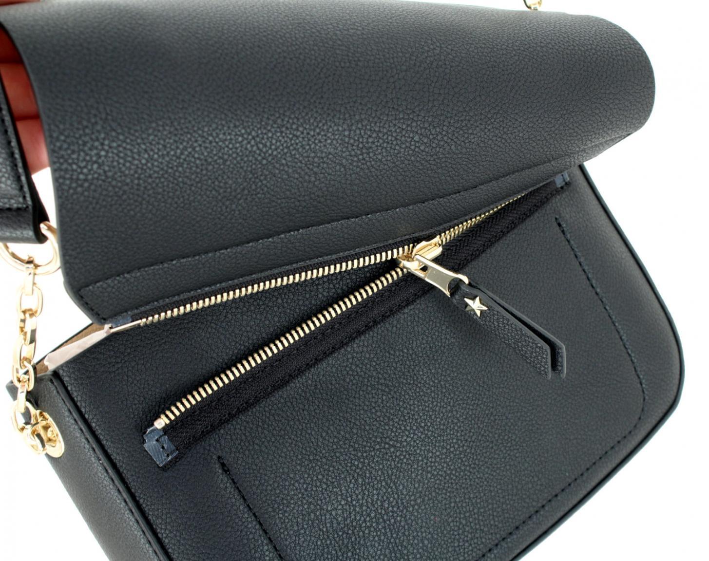 Überschlagtasche My Tommy Crossover silber beige wendbar