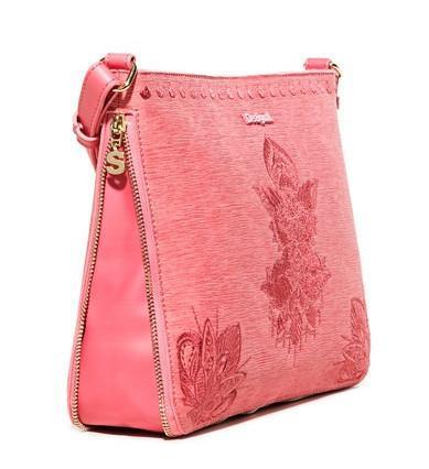 Umhängetasche Desigual Bols Soft Mendhi Molina Bubblegum pink