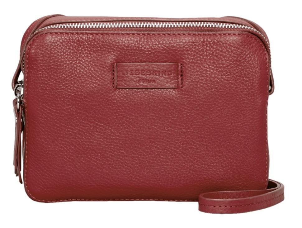 Umhängetasche Liebeskind Essential Cambag Italian Red rot