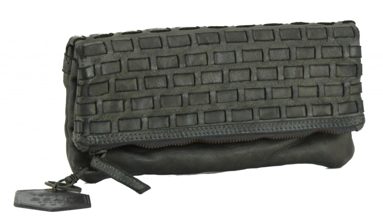 Unterarmtasche Bear Bags New Woven dunkelgrau Weboptik