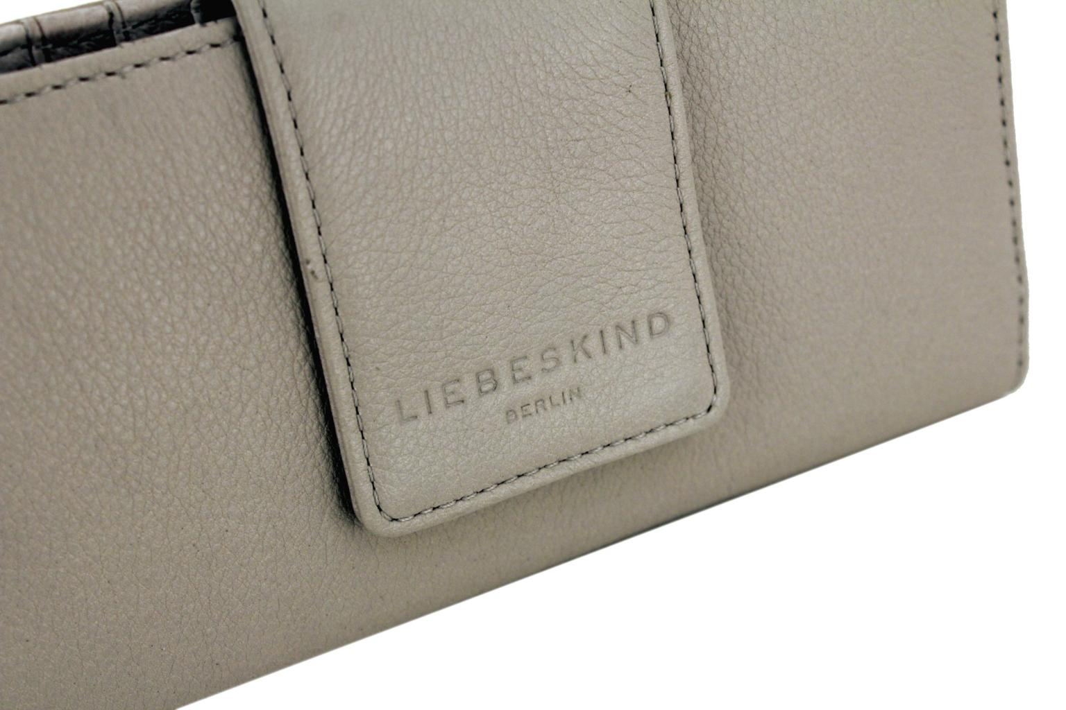 Vintageportmonee Liebeskind Gianna Basic hellgrau string grey
