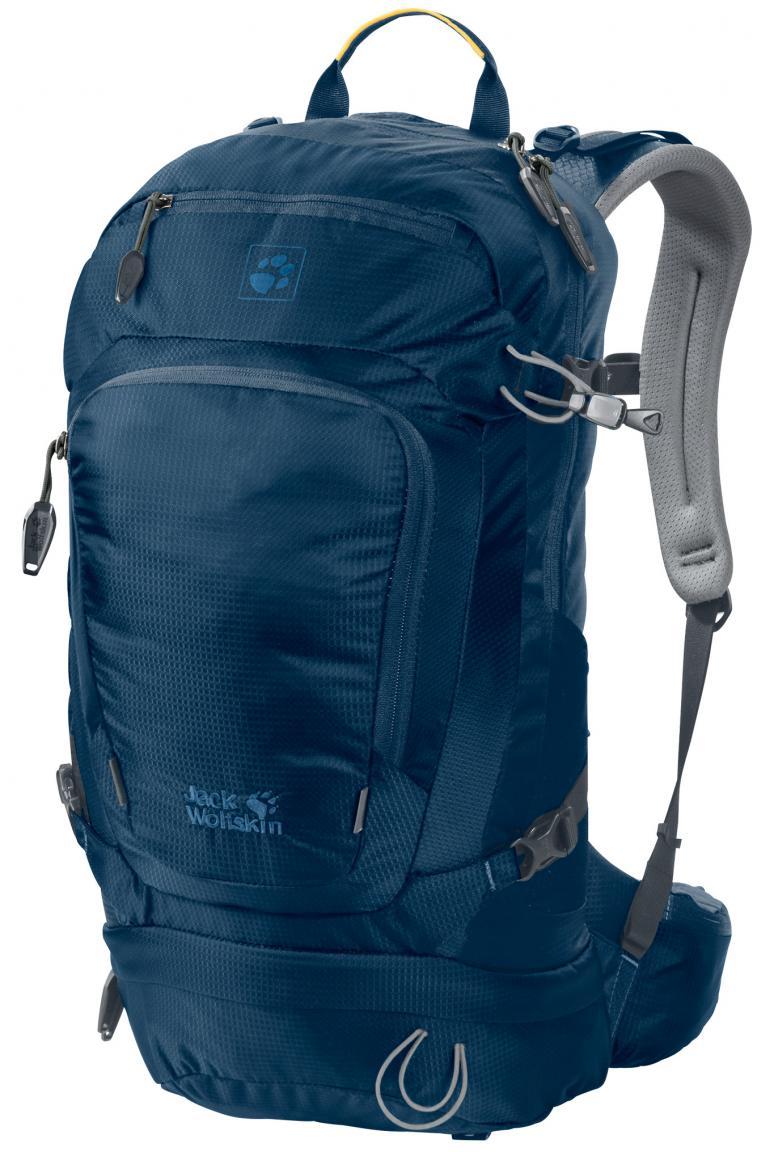 Wanderrucksack Jack Wolfskin Satellite 24 Pack Poseidon Blue