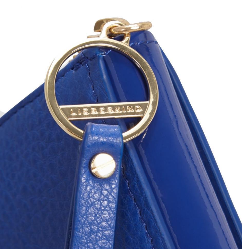 Zip-Börse Liebeskind MNPSallyH8 deep blue Schrauben Lack