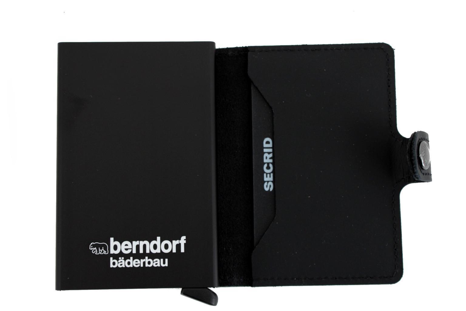 individuelle Gravur für Secrid Wallets und Cardprotector