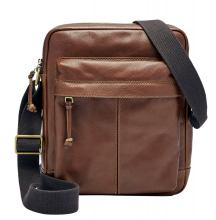 Fossil Defender Messenger Umhängetasche Brown