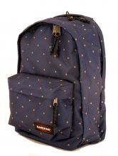Eastpak Back to Work Rucksack Punkte Gingham Dot Blau