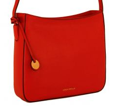 Coccinelle Crossovertasche Leder Rot