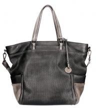Lichtblau Business Shopper Galini anthrazit A4 Bags & more