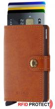 Secrid Geldbörse Mini Wallet Original Cognac