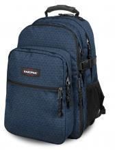 Eastpak Tutor Schulrucksack Laptop Stitch Cross blau Kreuz