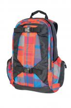 Nitro Zoom Rucksack wicked plaid red-blue