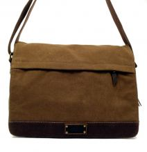 troop Colleguetasche Heritage Canvas mit Leder brown