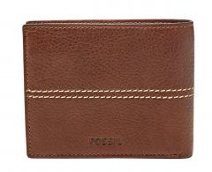 Fossil Turk Large RFID Protection Geldbörse brown