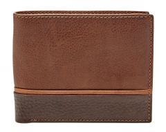 Fossil Ian Large Coin Pocket Börse brown
