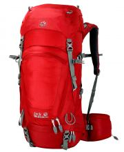 Tramperrucksack Jack Wolfskin Highland Trail 36 red fire