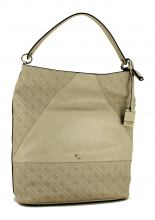 Guess Schultertasche Cammie Los Angeles Stone Grau