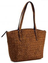 Gerry Weber Flechttasche Shopper Copper Braun