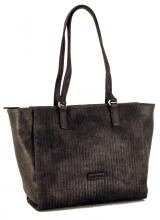 Gerry Weber Shoppertasche Stanzmuster Dark Grey
