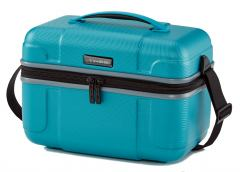 Beautycase Travelite Vector Zip Hartschale Türkis
