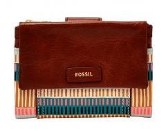 Fossil Geldbörse Ellis Multifunktion Colorful Stripes Bunt