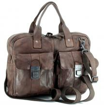 Aktentasche Harbour 2nd Winterhude Brown Vintage braun