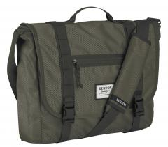 Burton Flint Messenger fadded diamond rip (grau)